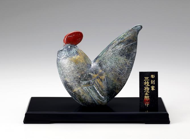 干支 鶏 No.3 有心(うしん)